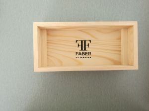 Natural Pine Wood Box for Watch with Logo Screen Printing pictures & photos