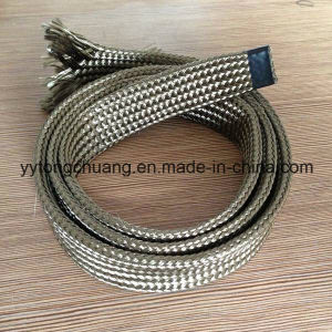 Texturized Basalt Fiber Lava Insulation Sleeve for Cable Protector pictures & photos