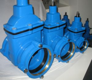 Resilient Seated Gate Valve with Sockets for PE and PVC Pipes pictures & photos