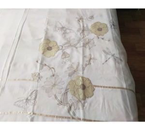 Fiber Cotton Card Color Patch Embroidery Embroidery Bedding Quilt Bed Cover pictures & photos