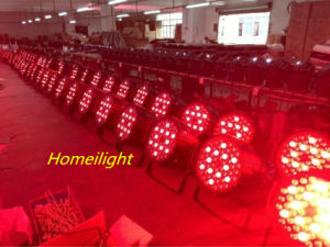 54PCS X3w High Power PAR Lamp Waterproof PAR Light for Stage, Party pictures & photos
