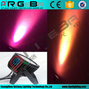 UV+RGBWA Waterproof Outdoor LED PAR Can Light Stage Light pictures & photos
