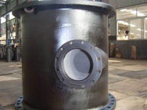 All Flanged Radial Tees Ductile Iron ISO2531/ En545/ En598 pictures & photos