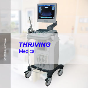 Hospital Ultrasound Scanner with Trolley pictures & photos