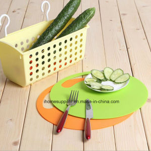 Pk1027 Plastic Flexible Non-Slip Thin Fruit Vegetable Chopping Mats