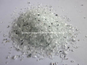 1.25 mm - 2.50 mm Crushed Dark Gray-Faced Mirror for Producing Quartz Floor pictures & photos