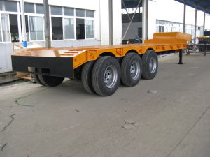 China Best Cost Lowbed Semi Trailer pictures & photos