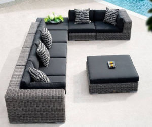 Sofa PE Rattan Garden Furniture (S237) pictures & photos