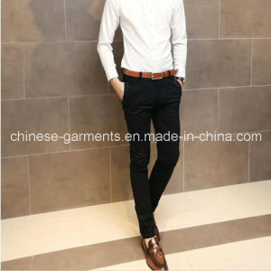 Wholesale Fashion Men Black Jeans Cotton Long Pants