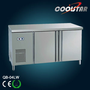 Commercial Stainless Steel Counter Kitchen Refrigerator (QB-04LW) pictures & photos