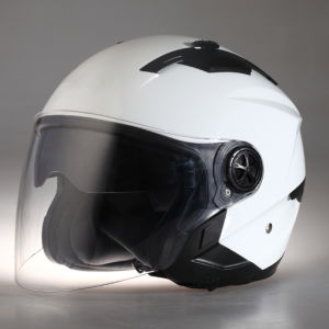 ECE/DOT Approvel Half Face Adults Motorcycle Helmets with Sunvisor, Double Visors Bluetooth pictures & photos