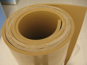 Food Grade Natural Rubber Shee, Gum Rubber Sheet Without Smell pictures & photos