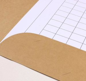 Brown Kraft Paper A4 Document Folder pictures & photos