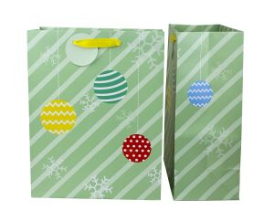 Holiday Paper Gift Bag Christmas Paper Gift Bag Paper Gift Bag with Customized Design pictures & photos