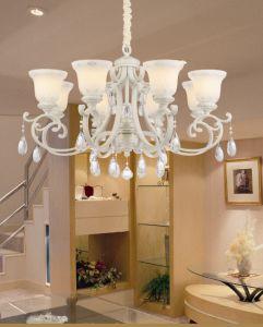 Versailles Rose Crystal Light Chandelier Energy Saving Light
