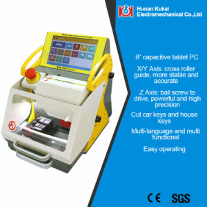 2016 Modern Fully Automatic Used Key Cutting Machine Sec-E9 for Automobile and Household Key pictures & photos