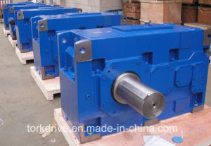 H High Power Parall Helical Shaft Gearbox pictures & photos