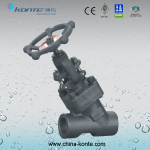 Forged Y Type Globe Valve with A105 Material pictures & photos