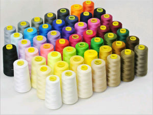 100% Spun Polyester Colors Sewing Thread