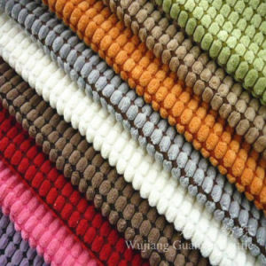 Cut Pile Corduroy Fabric Bonded for Home Textile pictures & photos