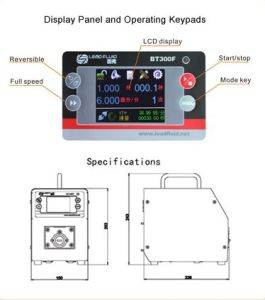 BT300F Intelligent Dispensing Peristaltic Pump 0.006-1600mL/Min pictures & photos