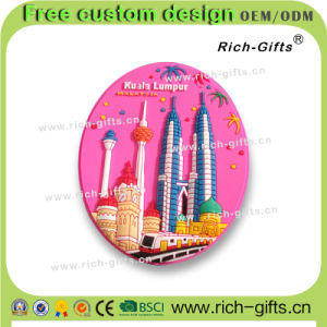 Fridge Magnets as Tourism Souvenir Malaysia Promotion Gifts Customized (RC-MA)