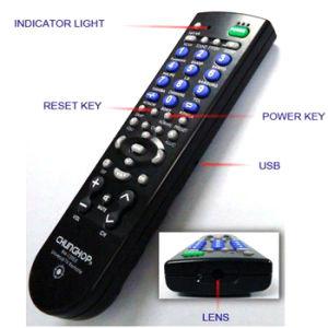 CMOS Wireless Video TV Remote Control Mini Camera