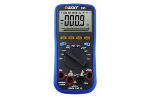 OWON High Precision Catiii Digital Multimeter (D35) pictures & photos