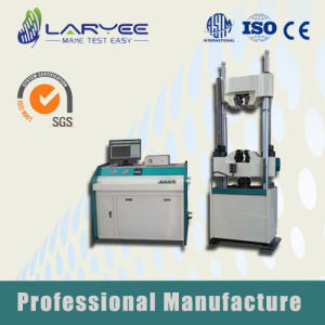 Computer Electronic Hydraulic Servo Universal Testing Machine (WAW-300/600/1000/2000) pictures & photos