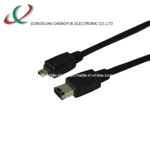 IEEE 1394 Cable 4p-6p 6ft Cable