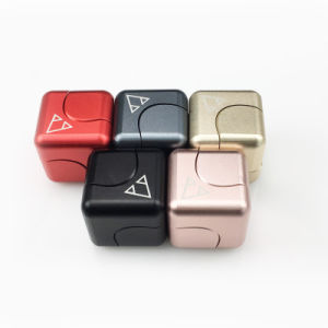 Newest Spinning Magic Cube Fingertip Toys to Relieve Stress pictures & photos