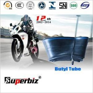 Good Quality Motorcycle Butyl Tube, (300/325-17) Motorcycle Butyl Inner Tube pictures & photos