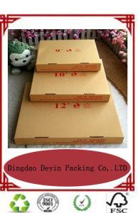 Kraft Paper Cardboard Pizza Box