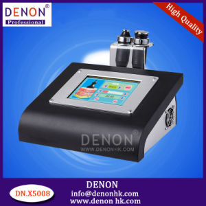 Machine 5MHz Cavitation and RF Body Slimming Machine (DN. X5008) pictures & photos