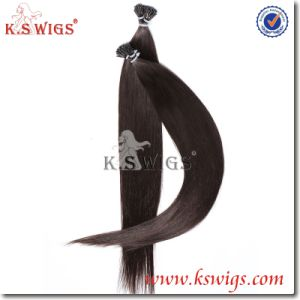 I-Tip Nail Hair Extension Brazilian Remy Human Hair pictures & photos