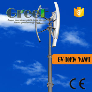 Vertical Wind Turbine System 10kw Wind Turbine for Sales pictures & photos