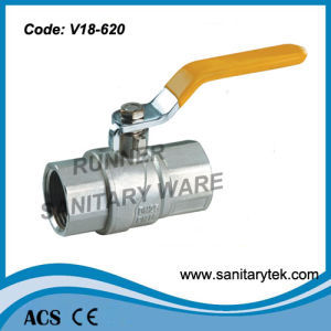 Full Bore Brass Ball Valve (V18-620) pictures & photos