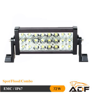 CREE 72W IP67 3 Rows LED Light Bar for Offroad Truck Jeep