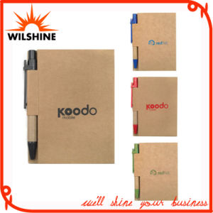 Custom Diary Notebook with Recycled Paper Pen (PNB013) pictures & photos