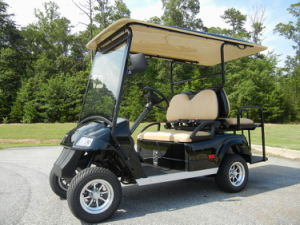 Utility Golf Cart, 4 Seats with Flip Seat, Eg2028ksz, CE Approved, Lsv pictures & photos
