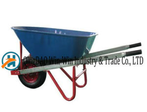 Colorful Wheelbarrow with PU / Rubber Wheel pictures & photos