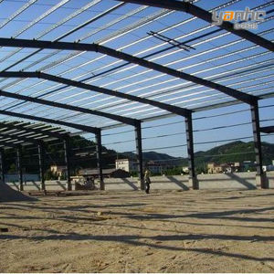 Large Span Metal Industry Workshop (S-S 104)