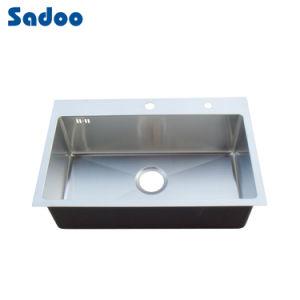 Single Kitchen Washing Basin, 1 Bowl Stainless Steel Sink