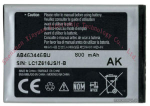 3.7V 1050mAh Mobile Phone Battery, Cellphone Battery for Samsung Ab463446bu