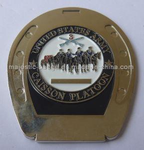 3D Zinc Die Cast Soft Enamel Army Coin pictures & photos