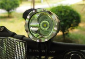 Rechargeable Headlight Lamp for Bicycle pictures & photos