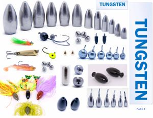 Wholesale Tungsten Flipping Weights Sinkers pictures & photos