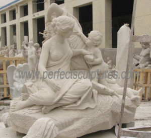 Carving Stone Marble Statue for Garden Sculpture (SY-X1723) pictures & photos