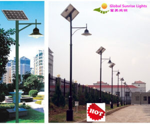 15W/30W Solar Garden Lights with Light Pole pictures & photos