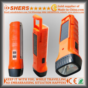 Solar Energy 1W LED Torch with Desk Lamp for Searching (SH-1939) pictures & photos